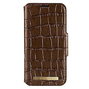 iDeal de Suecia iPhone X/XS Capri Wallet-Brown