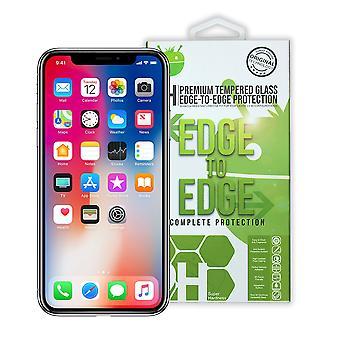 Svart Premium härdat glas för iPhone XR