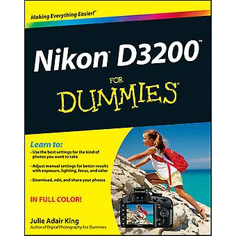 Nikon D3200 For Dummies da Julie Adair re - Book 9781118446836