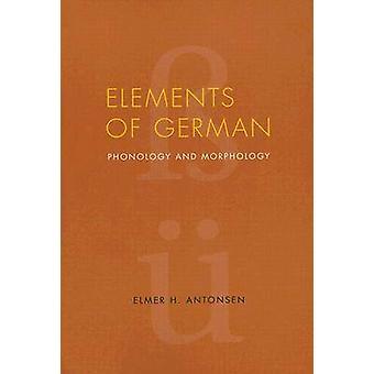 Elementos de alemán - fonología y morfología por Elmer H. Antonsen - 9