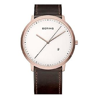 Bering horloges mens watch classic collectie 11139-564