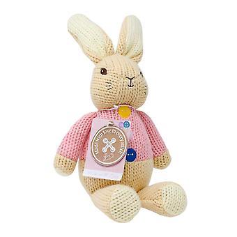 Wykonane z miłości Zajęcza - dziane Beatrix Potter Bunny