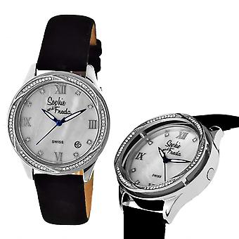 Sophie & Freda Los Angeles Swiss mens Watch - argent/blanc
