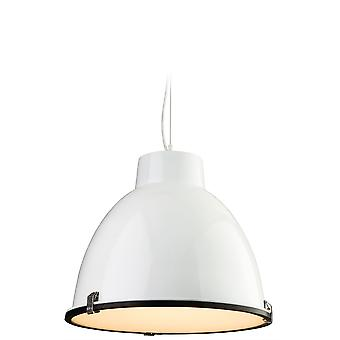Firstlight - 1 Light Ceiling Pendant White, Frosted Glass - 8621WH