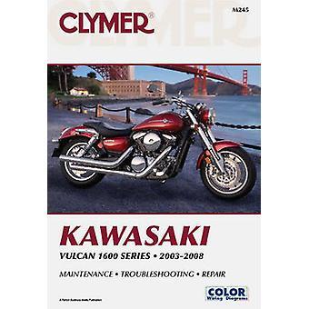 Clymer Kawasaki Vulcan 1600 Series 2003-2008 by Clymer Staff - 978159