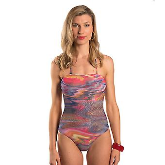 Kiniki Sorrento Tan Through Tube Swimsuit