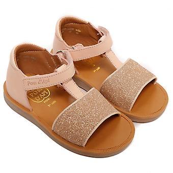 Pom D'Api Poppy Tao Easy Sandal, Nude