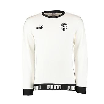 2019-2020 Valencia Puma Voetbalcultuur zweet top (wit)