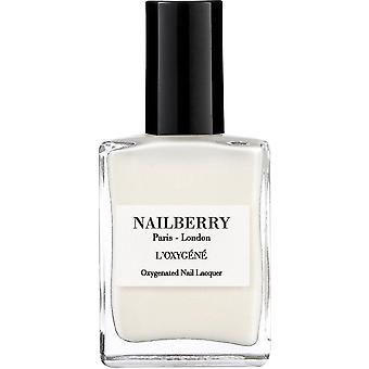 Nailberry Peonies 2019 Nail Polish Collection - White Mist 15ml