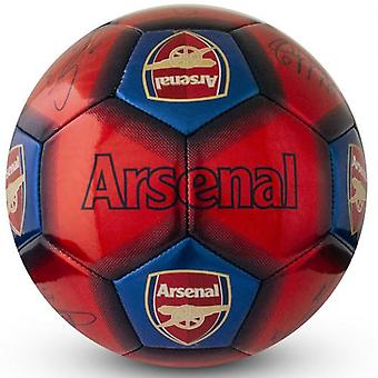 Arsenal Football Signatur