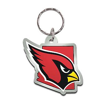 Wincraft STATE Keychain - NFL Arizona Cardinals