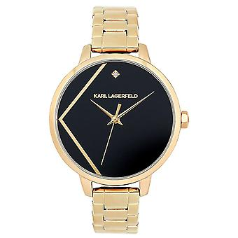 Karl lagerfeld jewelry klassic Watch for Women Analog Quartz with Stainless Steel Bracelet 5513097