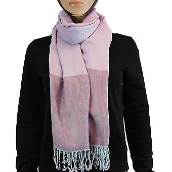 Huivi/Shawl/Shawl 100% Pashmina violetti Multi Color