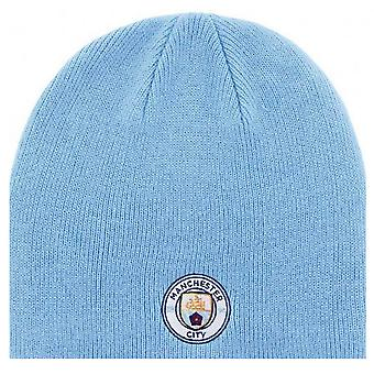 Manchester City FC Knitted Beanie Hat