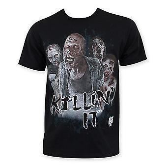 Walking Dead Zombie Killin It Tee Shirt