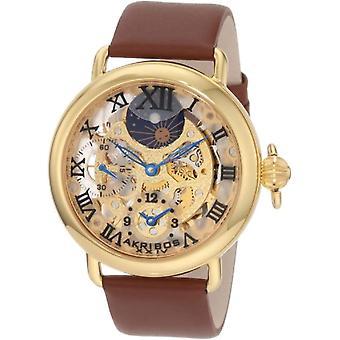 Akribos XXIV relógio homem ref. AKR451YG
