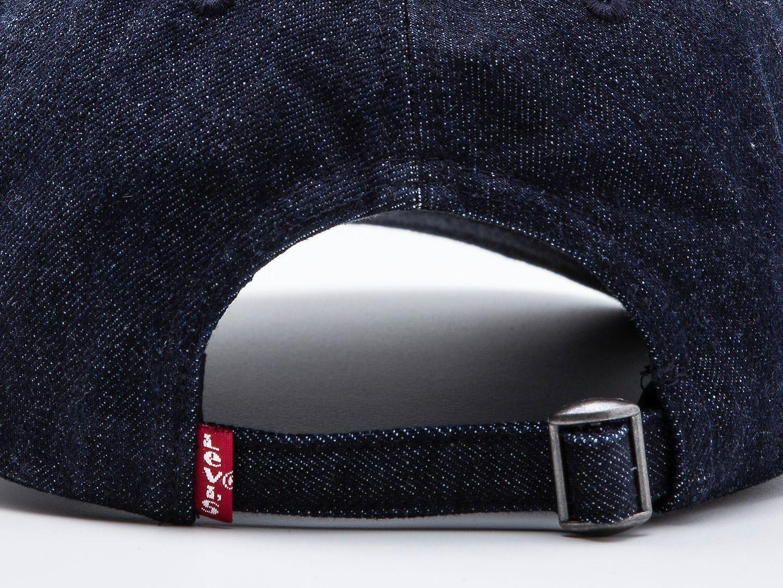 Levi EU 730 Denim Baseball Cap ~ Mid Batwing dark blue