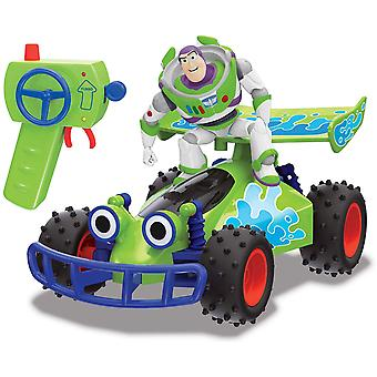 Toy Story 4 - RC Buggy With Buzz 1:24 Remote Control Toy