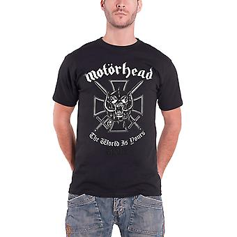 Motorhead T Shirt The World is Yours warpig band logo New official Mens Motorhead T Shirt The World is Yours warpig band logo New official Mens Motorhead T Shirt The World is Yours warpig band logo New official Mens