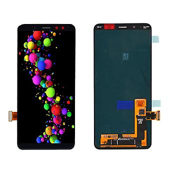 Stuff Certified® Samsung Galaxy A8 2018 A530 Screen (Touchscreen + AMOLED + Parts) A + Quality - Black