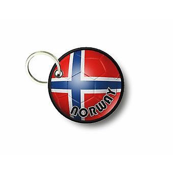 Cle Cles sleutel Brode patch Ecusson vlag vlag voet Noorwegen
