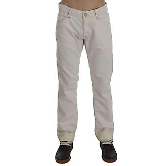 Jeans beiges en coton Stretch Regular Fit -- SIG3593925