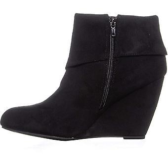 Ziginy Womens Senia Fabric Closed Toe Ankle Fashion Boots