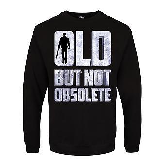 Grindstore menns gamle men ikke foreldet genser
