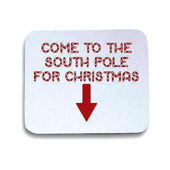Tappetino mouse pad bianco trk0318 south pole rk