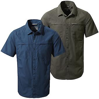 Craghoppers Mens Kiwi Trek SS UPF 50 Shirt