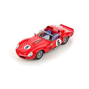 Ferrari TR61 Number 10 (Phil Hill - Le Mans Winner 1962) Resin Model Car