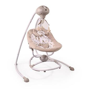 Cangaroo Baby Rocker Woodsy 2 in 1, Remote, 12 Melodies, Timer, 5 Steps, Mobile
