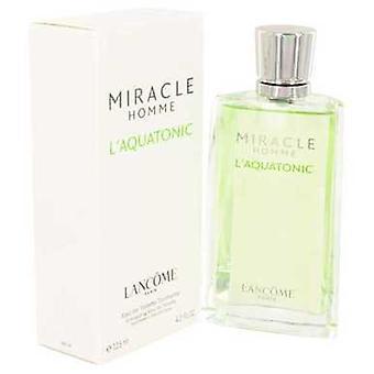Miracle L ' aquatonic door Lancome Eau de toilette spray 4,2 oz (mannen) V728-419618