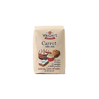 Wrights bagning gulerodskage mix-5 X 500g