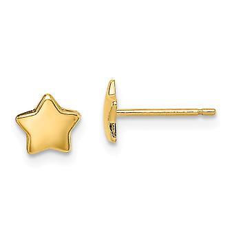 14k Madi K Star Post Øreringe smykker Gaver til kvinder - 0,3 Gram