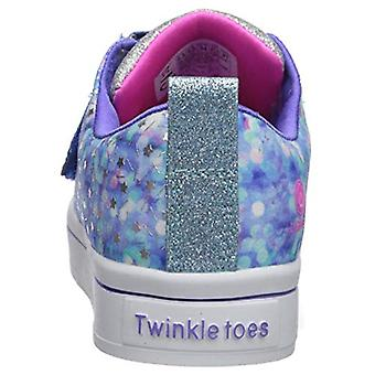 Skechers Kids' TWI-Lites-Confetti Glam Sneaker