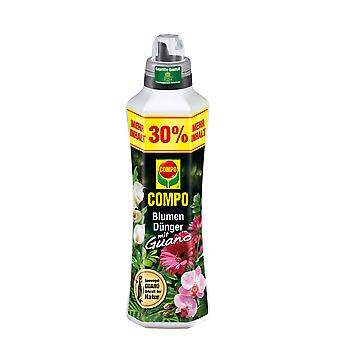 COMPO Flower fertilizer with guano, 1.3 litres