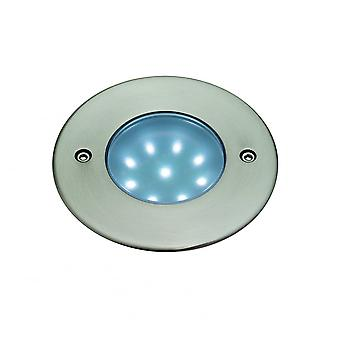 Firstlight Elicit Modern Brushed Steel Ceiling Hallway LED Downlighter