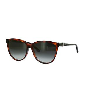 Cartier C Décor CT0186S 002 Havana/Grey Gradient Sunglasses