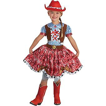 Beauty Cowgirl Child Costume