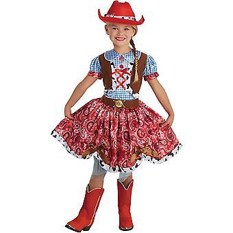 Schönheit Cowgirl Kind Kostüm