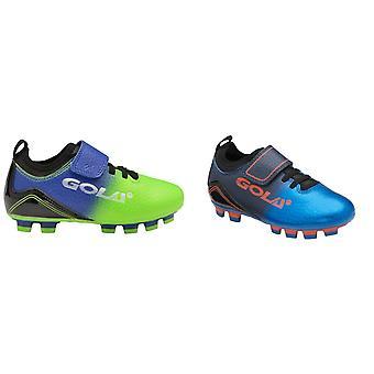 Gola niños / niños Apex 2 hoja QF touch fijación de la zapatilla de entrenamiento de fútbol