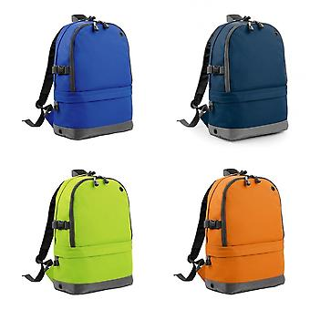 BagBase Backpack / Rucksack Bag (18 Litres Laptop Up To 15.6 Inch) (Pack of 2)