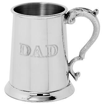 Dad Pewter Tankard - 1 Pint