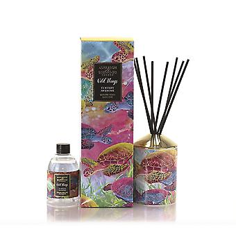 Ashleigh & Burwood Wild Things Luxus duftende Reed Diffusor Boxed Geschenk Set Turtley Awesome