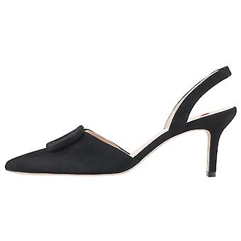 Chaussures Slingback pointues De l'orteil 7-10 6732 Mia Stylish Pointage en suède