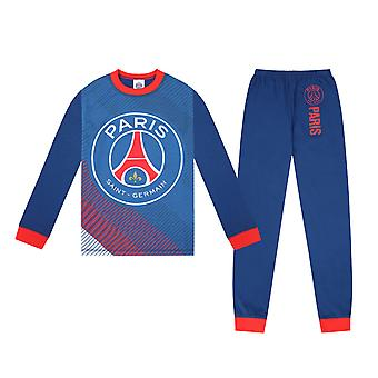 PSG Official Football Gift Boys Sublimation Long Pyjamas