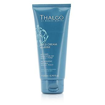 Thalgo Cold Cream Marine 24h Hydrating Body Milk - For Dry Sensitive Skin - 200ml/6.76oz