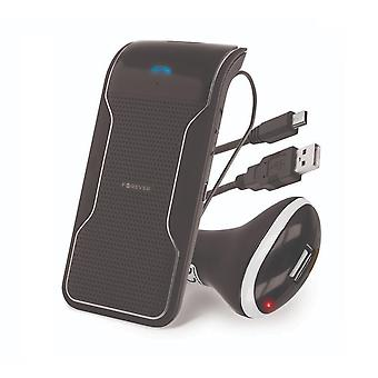 FOREVER Bluetooth håndfrit bilsæt-BK-100-sort
