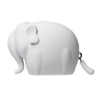 CREADYS Elephant Coin Purse in Grey